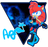 AryaBlueElectricTH - Galaxy Power!! by AryTheHedgehog29