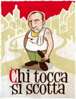 Chi tocca si scotta by karmadg