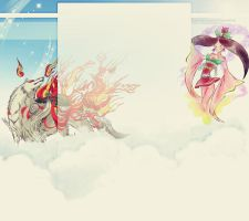 Okami FREE Youtube Background by demeters