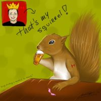 King of Squirrels! by Eterna-Noche