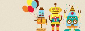 Robot Party! by ExtremeJuvenile