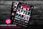 AFTER PARTY CLUB FLYER PSD by pixeldelightuk