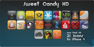 Sweet Candy HD Icon Pack 05 by vasyndrom