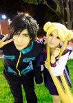 Seiya Kou and Usagi Tsukino Cosplay - Sailor Moon by SailorMappy