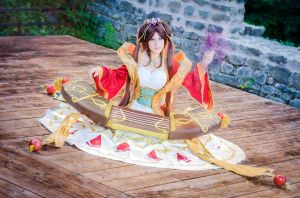 Sona Guqin - League of Legends by MiyuShizuki