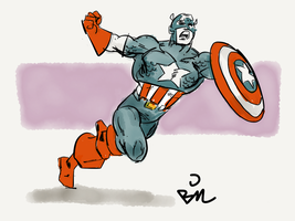 Captain America by bsimser