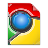 Google Chrome File Type Icon by M4he