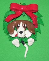 Hound dog ornament by ladytech