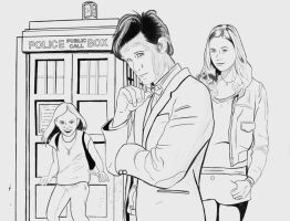 The Doctor Amy and McKayla by WatchTower513