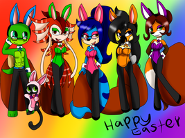 Happy Easter by queenmafdet
