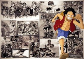 One piece Best Moments by inkedr