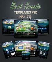 Best Create Black Templates PS by dimsons