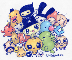 Tamagotchi - Version One by Chaowzee