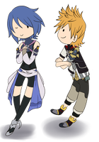 KH Time! - Aqua and Ventus by infinitehearts
