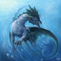 Water dragon by CindyAA