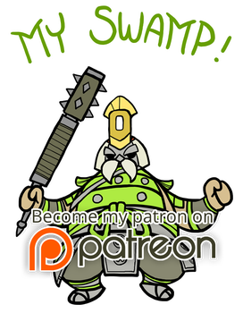 For Honor - My Swamp (Chibi) by Zennore