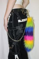 Rainbow Tail with Clasp For Sale! by DanikaMilles