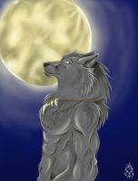 Full Moon by XxFenrierxX