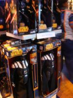 Darth Vader toys at Disneyland's Star Wars Store by Magic-Kristina-KW