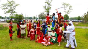 ColossalCon 2013 - Avatar Photoshoot 60 by VideoGameStupid