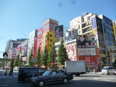 Akihabara, heart of Japan modern culture. by Blitzgob
