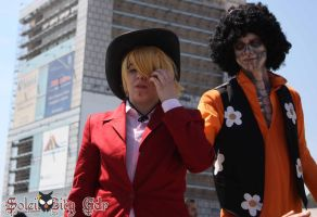 Sanji and Brook by Red69Robin