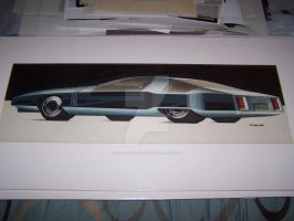 George camp Olds Toronado by cadillacstyle