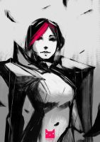 Sketch : Fiora by wacalac