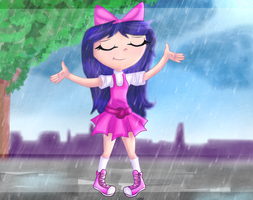 rainy day - it's perfect! by Lelka-Philka