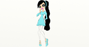 Monster High Oc: She's a tad late. by sunnygirl979