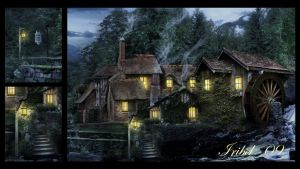 Olde Mill Inn Close-Up by Iribel