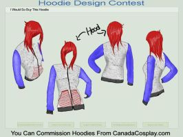 I'd Buy This Hoodie: Rag Doll by pieface75