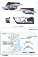 Star Trek Axanar - Ares Concept To Final by stourangeau