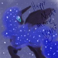 Happy Halloween/Nightmare Night~! by cleverlittleunicorn