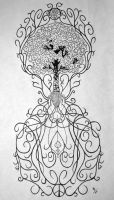 Tree of Life tattoo design by jdeandesigns