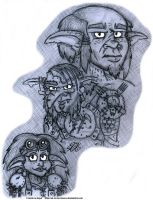 Sketch - Clan Manacle Reference by AK-Is-Harmless