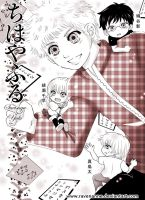 Chihayafuru: Young Taichi and the Chibi Trio by ravenanne