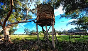 Exford Homestead, Water tank by Captainttroy