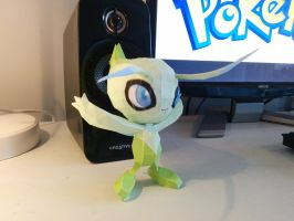 Papercraft Celebi #1 by ThatPapercraftGuy