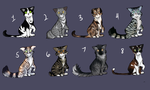 Cat adopts #2 by eliza1star