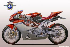 MV AGUSTA 600 3 Supersport by obiboi