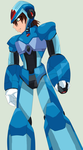 Mega Man X Future Is in my hands by Sobies516pl