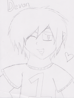 Devon Bostick doodle :3 by BOTDF-Sonic-Pm2fan
