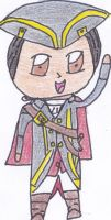 Chibi Haytham Kenway for Lanzio by Cloudie-Skye