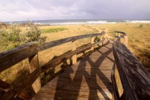 Access to beach by brunette-from-oz