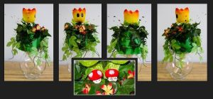 Super Mario Wedding Bouquet by crokittycats