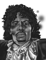 Dave Chappelle as Prince BW by BrothaBlu