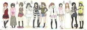 AKB48 Project by drawwithme15
