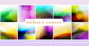 Nature's Canvas Icon Textures by blue-emotion