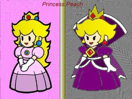 Paper Princess Peach by Fujipeg350